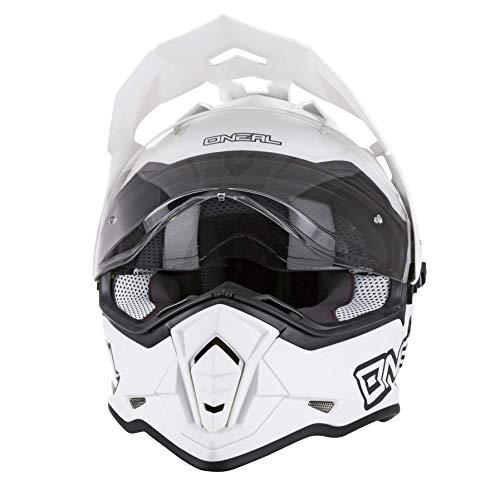 O'Neal 0817-514 Unisex-Adult Full-face Style Sierra II Helmet Flat White L (59/60cm)...