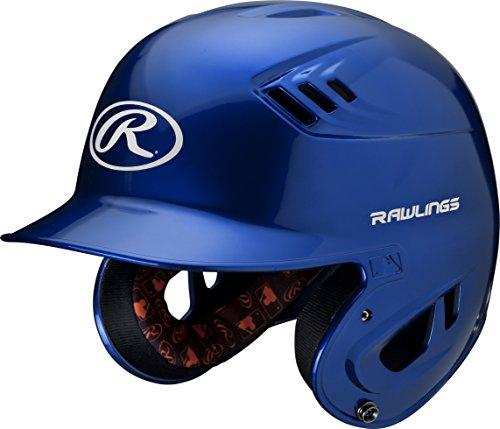 Rawlings R16 Series Metallic Batting Helmet, Royal, Senior