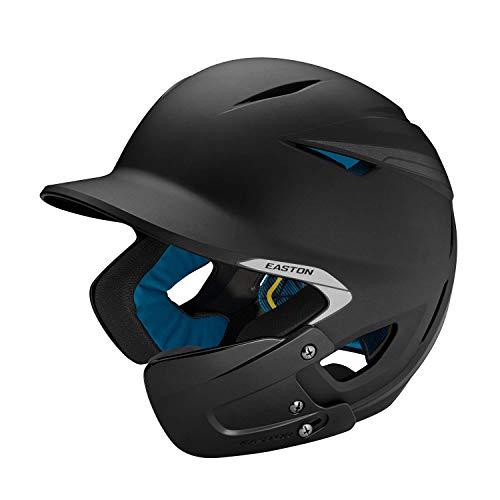 EASTON PRO X Baseball Batting Helmet w / JAW GUARD, Junior, Right-Handed Batter, Matte...