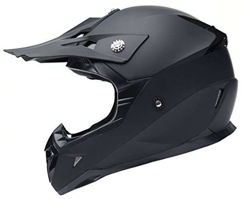 Motorcycle Motocross ATV Helmet DOT Approved - YEMA YM-915 Motorbike Moped Full Face Off...