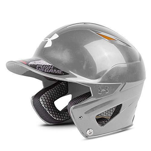 Under Armour Baseball UABH2 110: GPH Converge Solid Batter's Helmet, Graphite, Youth