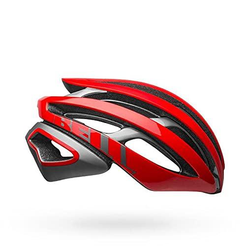 BELL Z20 MIPS Adult Road Bike Helmet - Matte/Gloss Red/Gray (2021), Medium (55-59 cm)