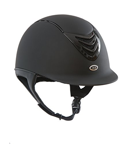 IRH 4G Helmet with Interchangeable Comfort/Sizing Liners, Matte Black, Small (6 5/8 - 6...