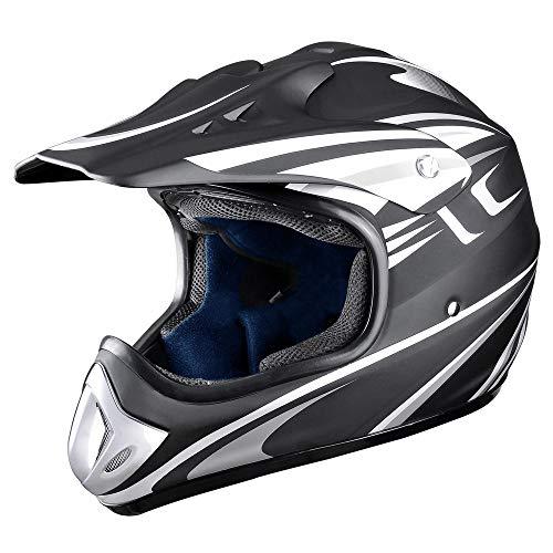 AHR H-VEN20 DOT Outdoor Adult Full Face MX Helmet Motocross Off-Road Dirt Bike Motorcycle...