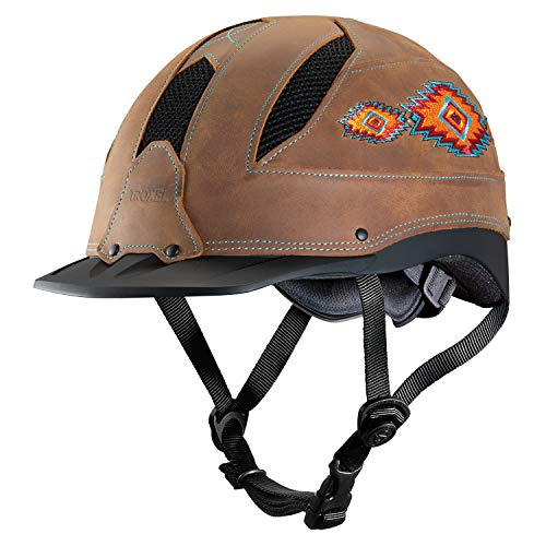 Troxel Cheyenne Horseback Riding Helmet, Southwest, Small (6 5/8 - 7)