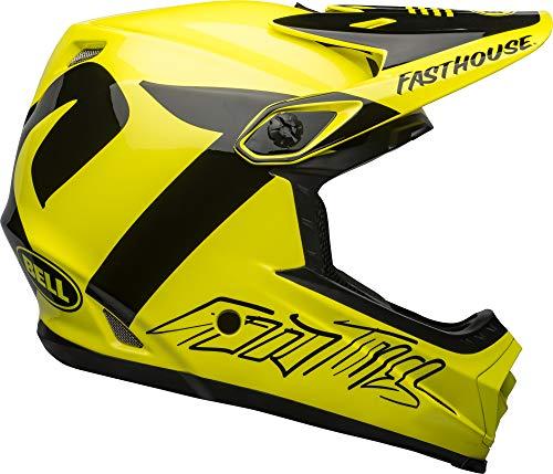 BELL Full-9 Fusion MIPS Adult Mountain Bike Helmet - Fasthouse Newhall Gloss Hi-Viz/Black...