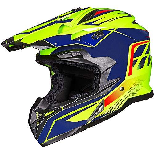 ILM Adult ATV Motocross Off-Road Street Dirt Bike Full Face Motorcycle Helmet DOT Approved...