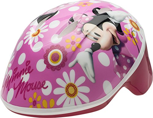 Bell 7059829 Minnie Mouse Pretty in Polka Dots Toddler Helmet, (3-5 yrs.)