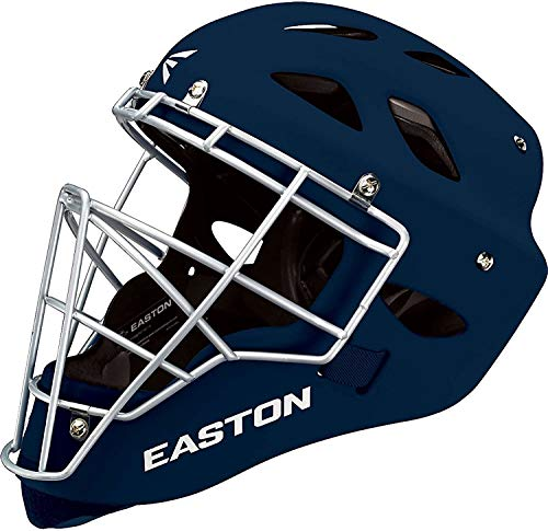 Easton Rival Catcher's Helmet, Navy, Large