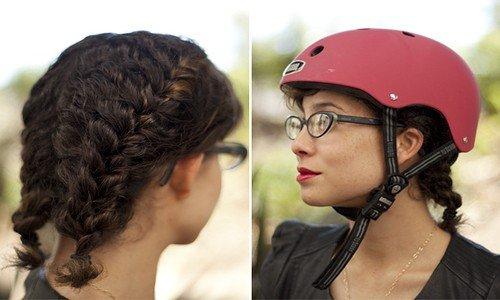 Helmet Hair with Short Hair