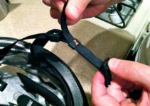 How to clean bicycle helmet straps