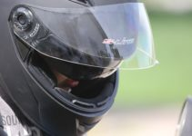 How to remove motorcycle helmet visor