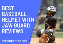 Baseball Helmet With Jaw Guard